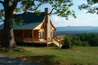 Blue ridge real estate offering home land and log cabin for Cabins for sale blue ridge mountains